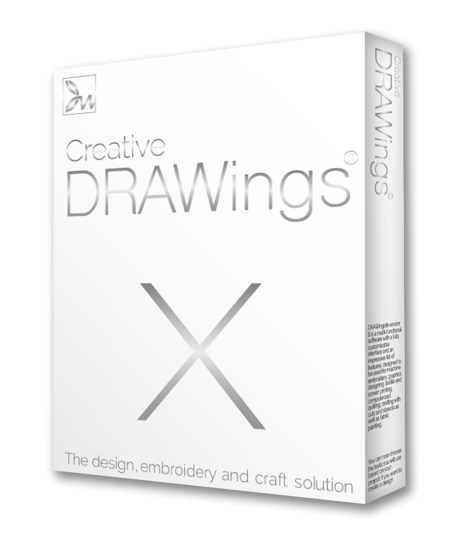 Creative DRAWings Embroidery Software